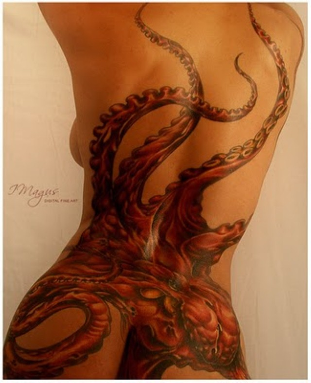 Octopus Tattoo Designs2