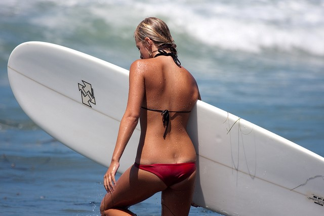 surfer girl again