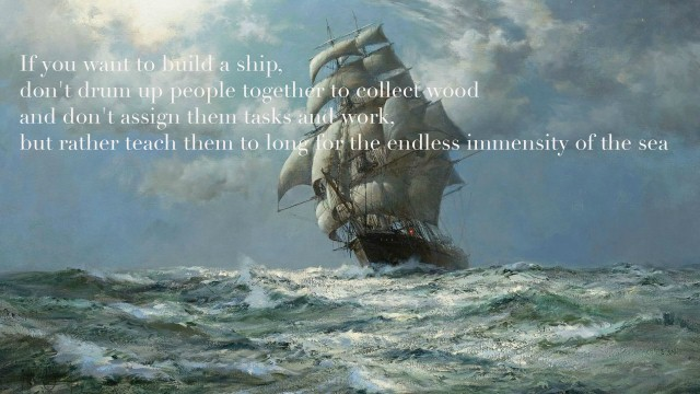 If you want to build a ship quote