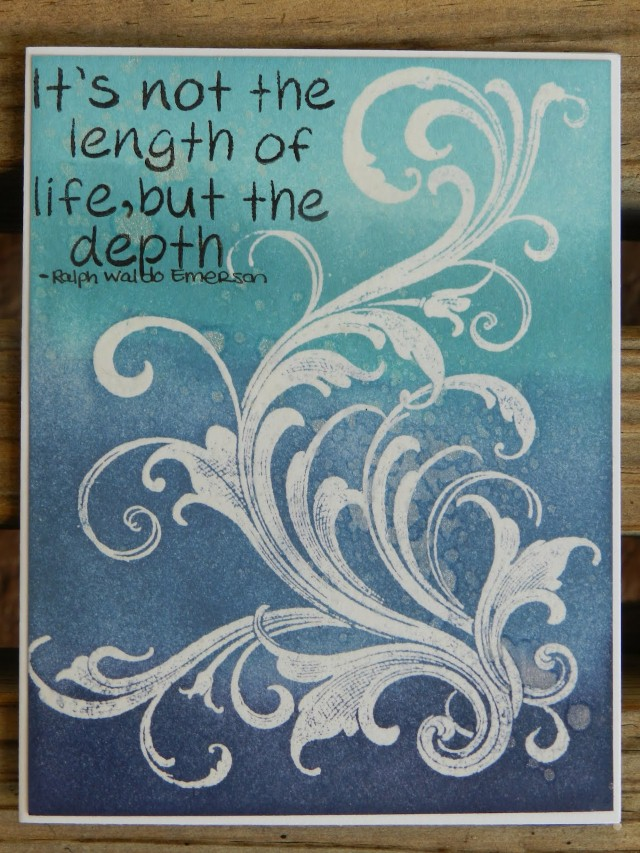 Length of life emerson quote