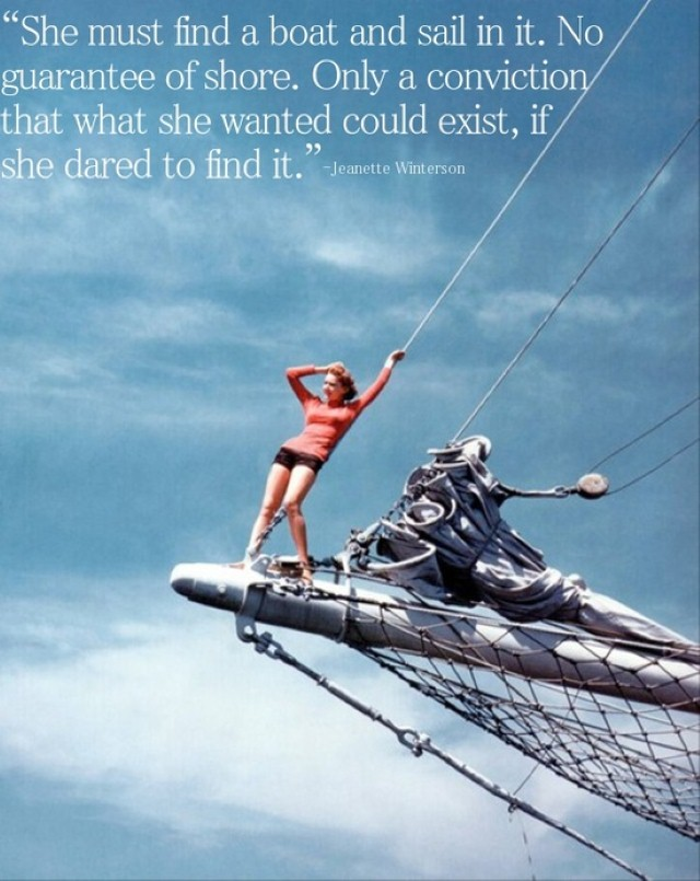 She must find a boat quote