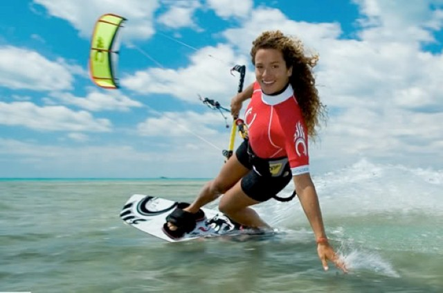 smiling kiteboarder 2