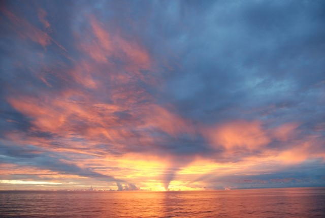 39-Celebes Sea Sunset