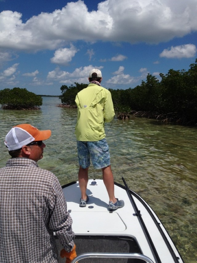 Tarpon fishing in the Keys with Fly Fisherman.decryptedKLR
