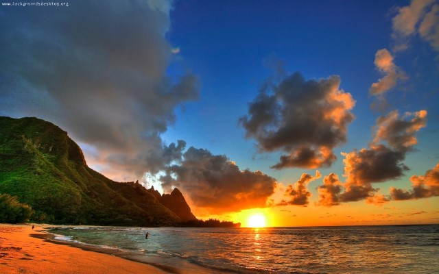 sunsets_beach_sea_hawaii_-1680x1050